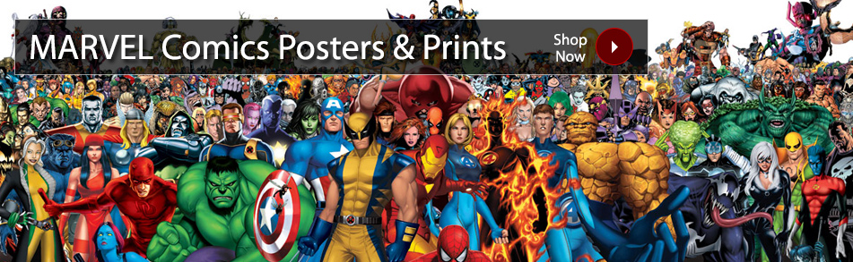 Comic Book Posters